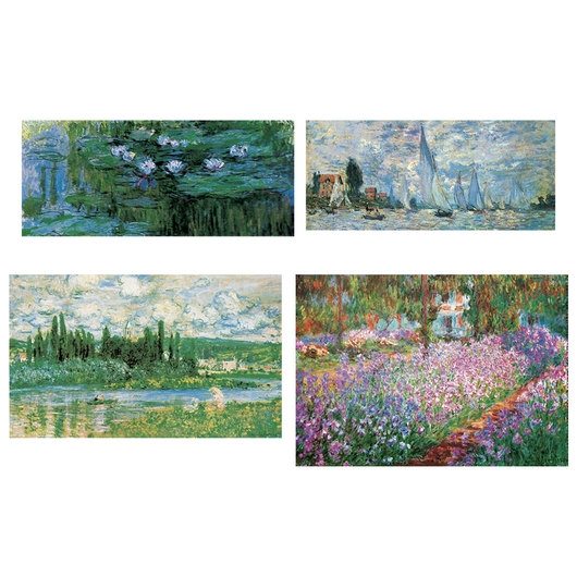 Monet Art Print Collection - Set of 4