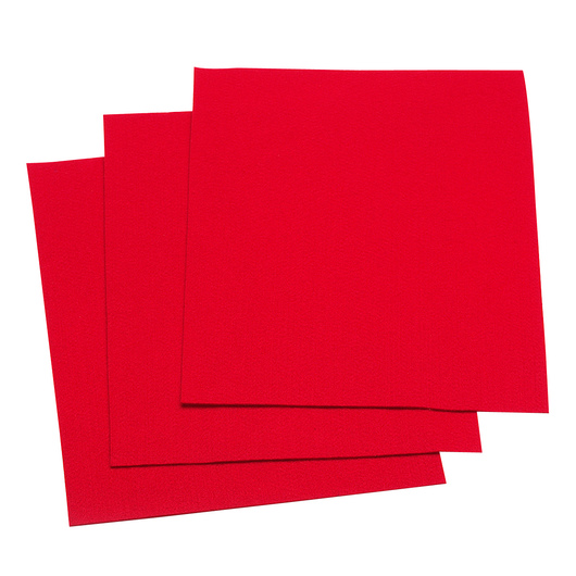 Felt Pieces - Pkg. of 10 - 9 in. x 12 in. - Red