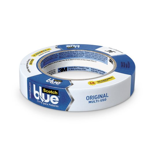 3M™ Scotch® Blue™ Masking Tape - 1 in. x 60-yd. Roll for Multi-Surface