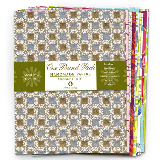 Shizen™ Handmade Decorative Papers - 11 in. x 15 in. - 1 lb.