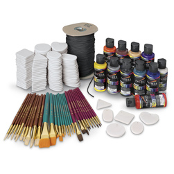 Super Acrylic Bisque Medallion Kit