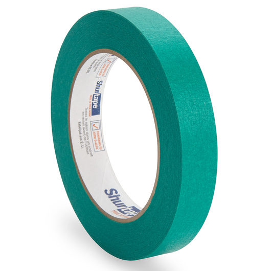 Colored Masking Tape - 3/4 in. x 60 yd. Roll - Green