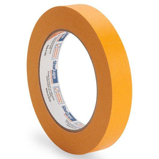 Colored Masking Tape - 3/4 in. x 60 yd. Roll - Orange