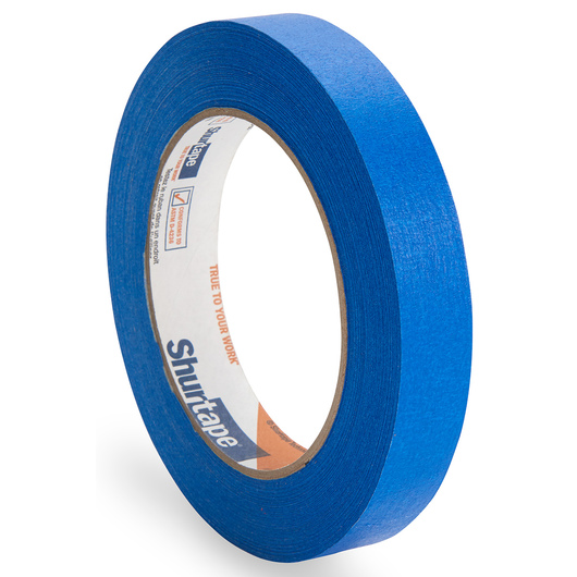 Colored Masking Tape - 3/4 in. x 60 yd. Roll - Blue