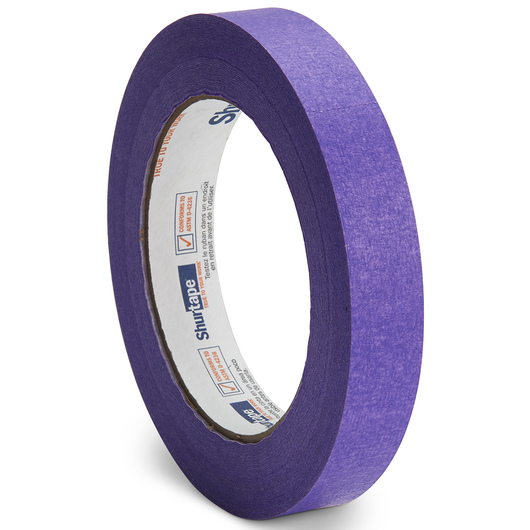 Colored Masking Tape - 3/4 in. x 60 yd. Roll - Purple