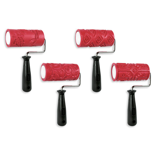 AMACO® Textured Rollers Classroom Pack A