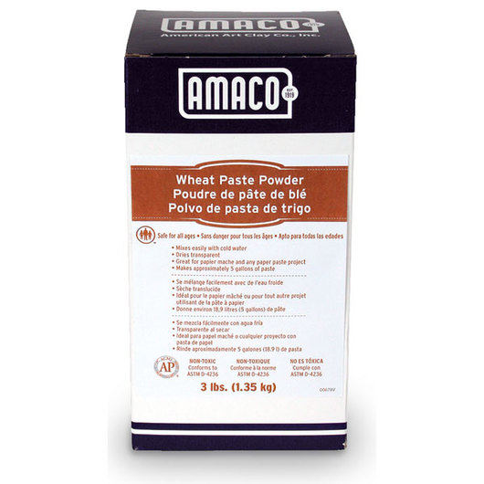 AMACO® Wheat Paste Powder - 3-lb. Box