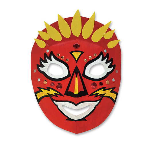 Pacon® Dimensional Paper Masks - Set of 40