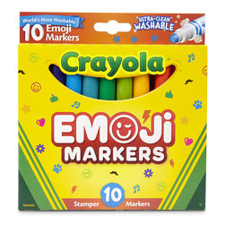 Crayola® Ultra-Clean Washable® Emoji Markers - Set of 10