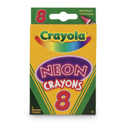 Crayola® Neon Crayons - Set of 8
