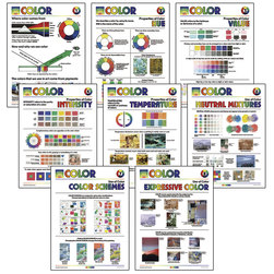 Color Posters - Set of 8 - 18 in. x 24 in.