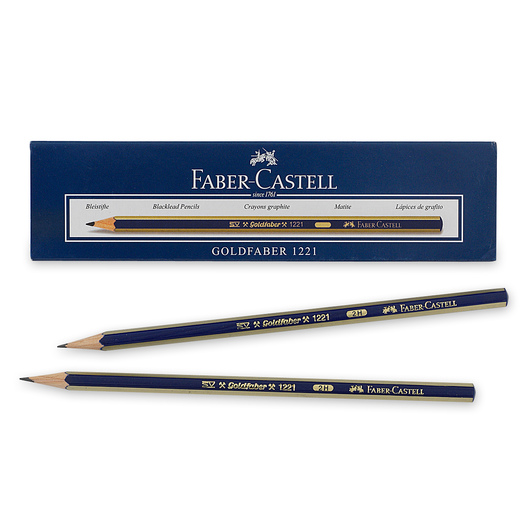 Faber-Castell® Creative Studio® Graphite Sketch Pencils - Box of 12 - Hardness 2H
