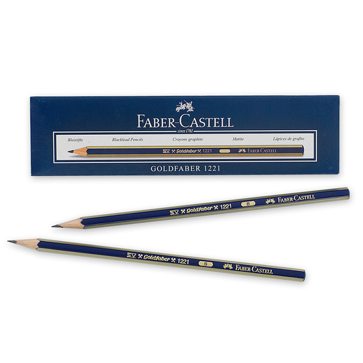 Faber-Castell® Creative Studio® Graphite Sketch Pencils - Box of 12 - Hardness B