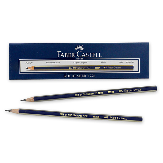 Faber-Castell® Creative Studio® Graphite Sketch Pencils - Box of 12 - Hardness 4B