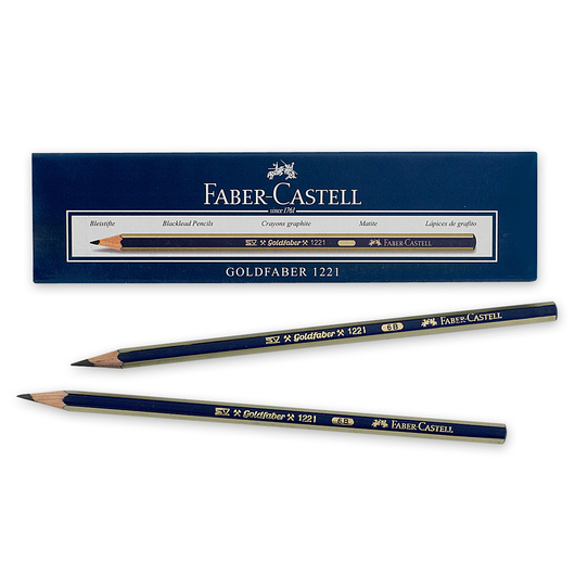 Faber-Castell® Creative Studio® Graphite Sketch Pencils - Box of 12 - Hardness 6B