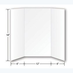 Flipside Foam Project Boards,18 in. x 24 in. - Pkg. of 24