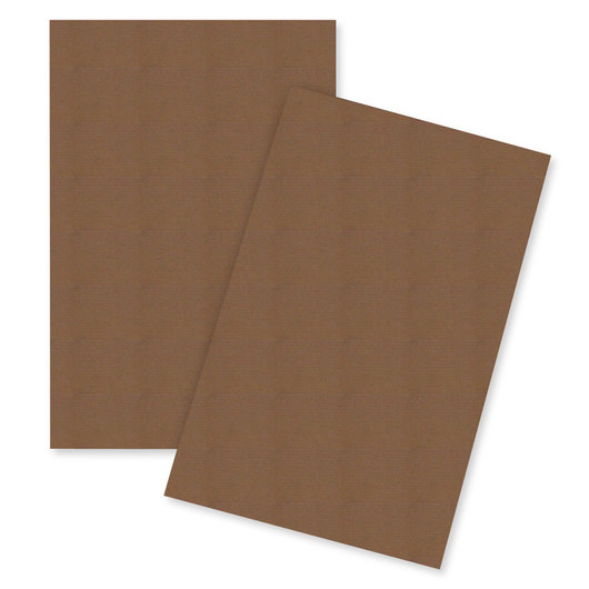 Corrugated Sheets - 32 in. x 40 in. - Kraft