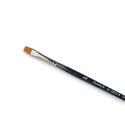 Dynasty® Finest Golden Synthetic Flat Brush - 1/4 in.