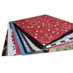 Fabric Squares - Pkg. of 36 - 12 in. x 12 in.