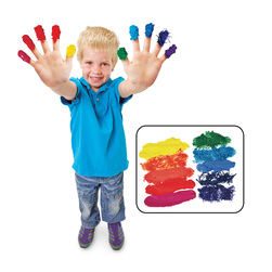 Roylco Finger Paint Sensations Kit