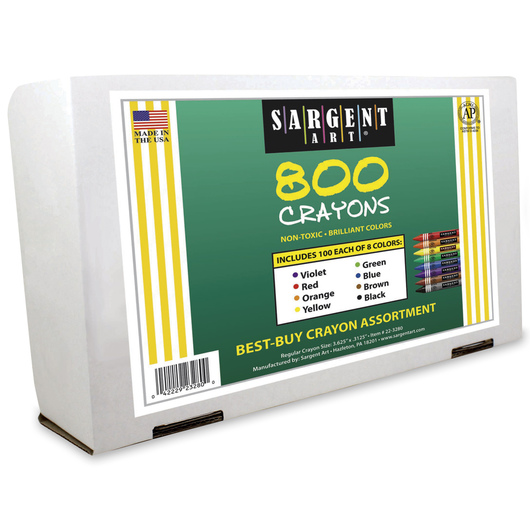 sargent art best buy crayons set of 800 crayons drawing