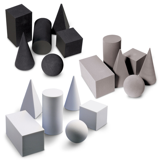 Complete Set of Nasco Geometric Solids