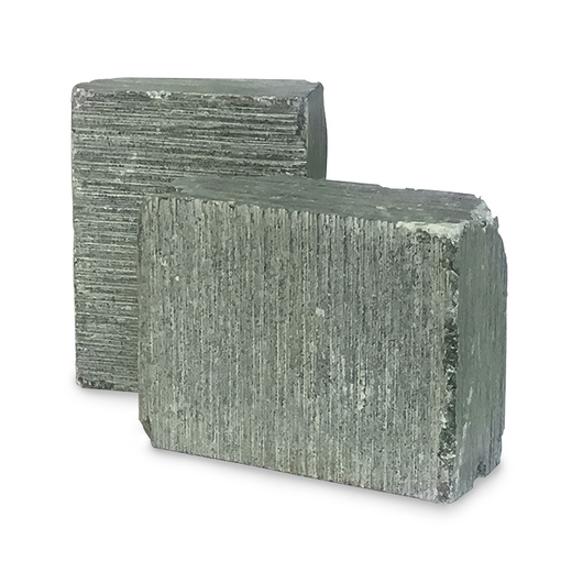 Deep Ocean Green Soapstone - Box of Five Pieces of 2-lb. Soapstone