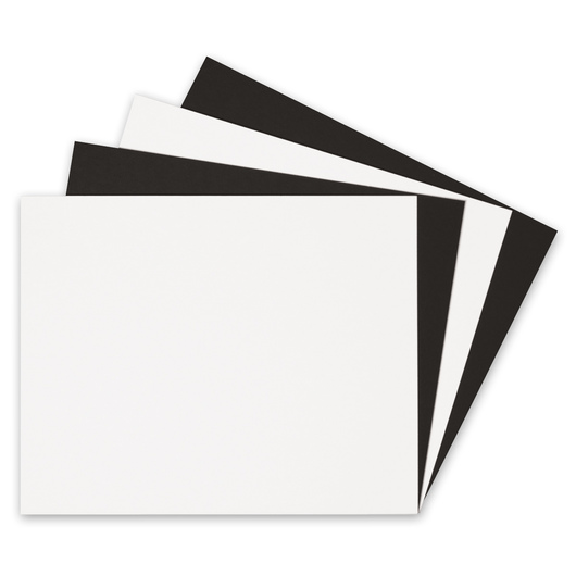 Alvin® Black and White Mat Boards - 16 in. x 20 in.