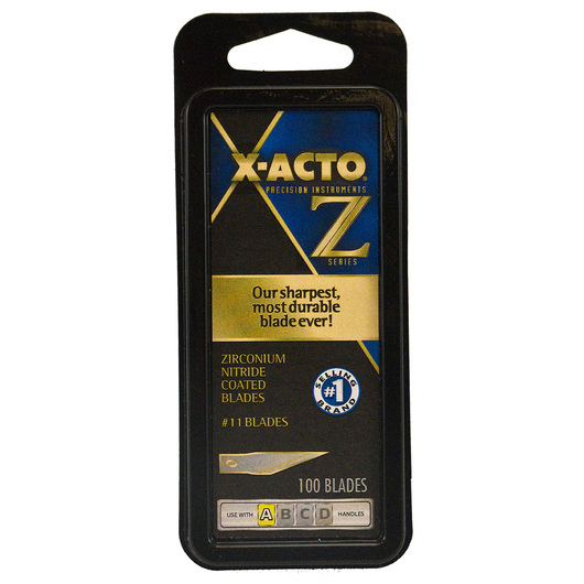 X-Acto #11 Classic Fine Point Blade - Pack of 100