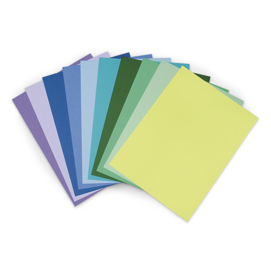 Pacon® Cool Assortment Package - 50 Sheets - 9 in. x 12 in. - 10 Colors