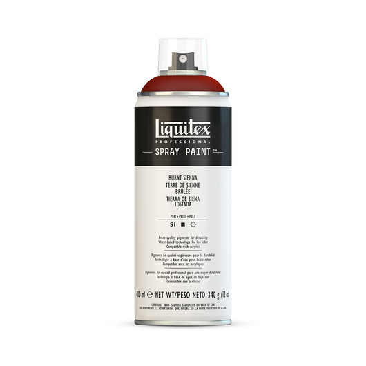 Liquitex® Professional Level Spray Paint - 400 ml - Classic Color - Burnt Sienna