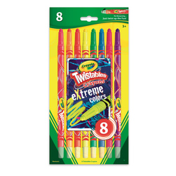 Crayola® Twistables® eXtreme Colors Crayons - Set of 8