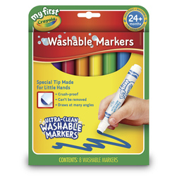 Crayola® Ultra-Clean Washable® My First Crayola™ Color Markers - Set of 8