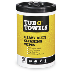 Tub o' Towels® - Canister of 90 Cleaning Wipes