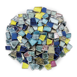 Crafters Cut Precut Glass Mosaic Mercantile Tiles Shimmer Assortment