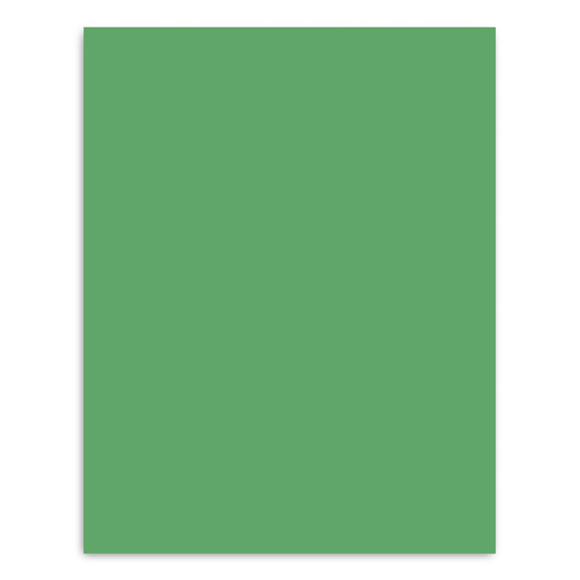 Pacon® Peacock® Premium Coated Poster Board - 22 in. x 28 in. - Green