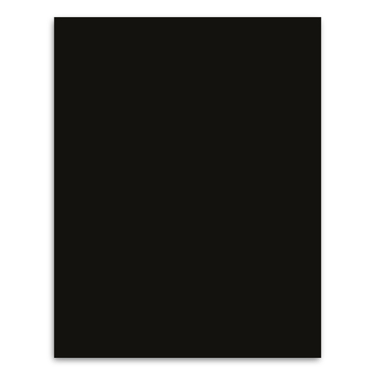 Pacon® Peacock® Premium Coated Poster Board - 22 in. x 28 in. - Black