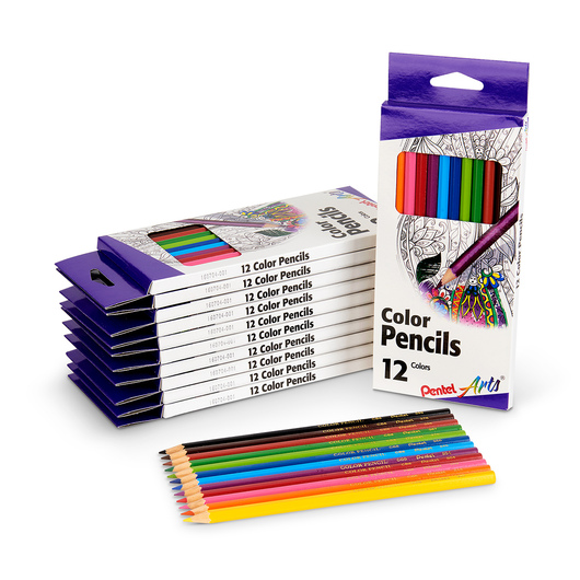 Pentel Arts® Colored Pencils - Classroom Pack of 144