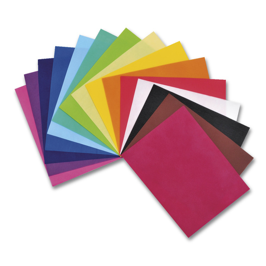 Smart-Fab® Disposable Art and Decoration Fabric Sheets - 9 in. x 12 in. - Pack of 45 - Assorted