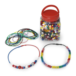 Stretch Magic Cord and Mixed Beads Jewelry Kit