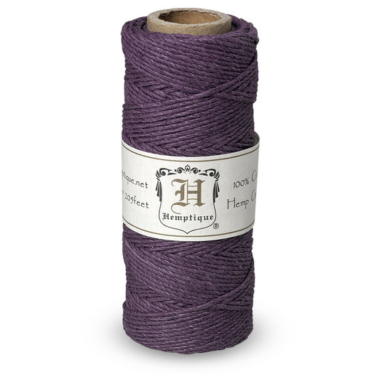 Hemptique® Hemp Cord Spool - Purple