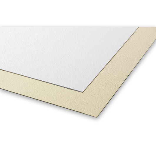 Crescent® Pebble Mat Boards - 4 Ply White and Cream - 20 in. x 30 in. - Pack of 10