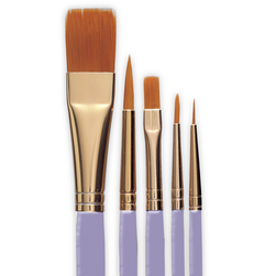 Royal Brush® Crafters Inspirations® Brush Set - Variety CR-105 - Set of 5