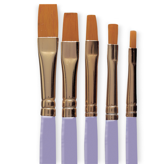 Royal Brush® Crafters Inspirations® Brush Set - Shader CR-101 - Set of 5