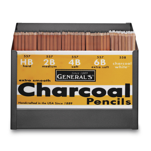 General's® Charcoal Pencils Classroom Pack