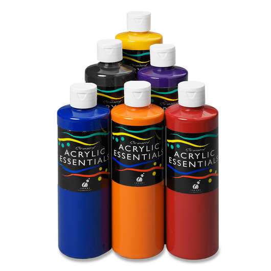 Chromacryl® Students' Acrylics - Set of 6 Pints - Secondary Colors