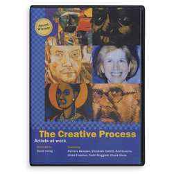 The Creative Process: Artists at Work DVD