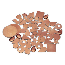Copper Shapes Small Assortment