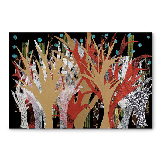 Crescent® Collage Board - Black - 15 in. x 20 in.