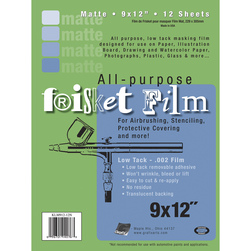 Grafix® Frisket Film - 12 in. x 4-yd. roll